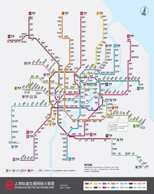 上海map